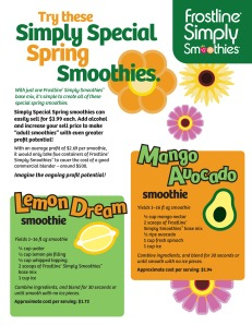 Simply Smoothies Spring Recipes